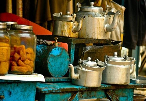 a tea stall paragraph
