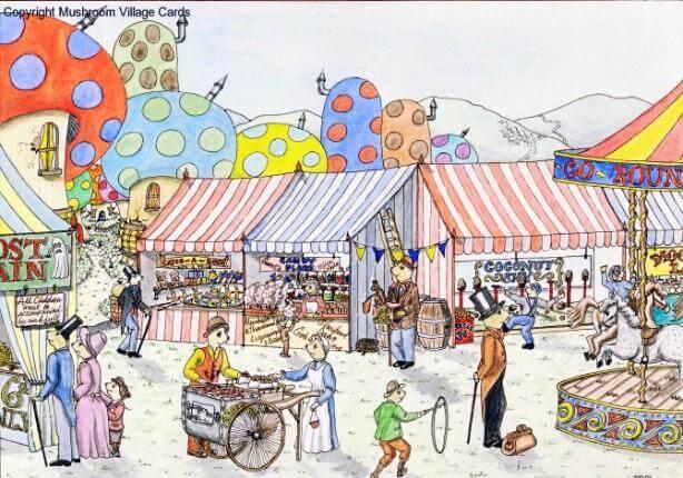 A Village Fair Paragraph