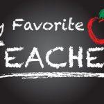 MY FAVOURITE TEACHER