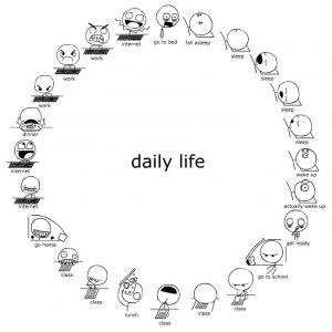 My Daily Life Paragraph