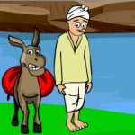 The farmer and the donkey story