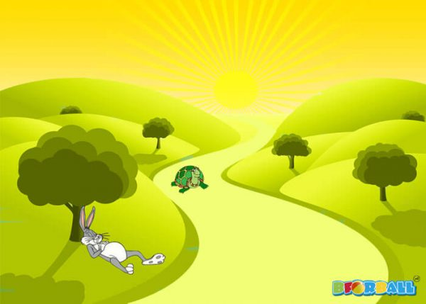 The tortoise and the hare short story