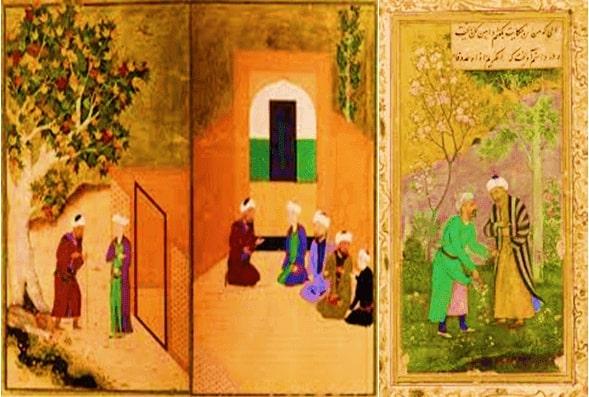 Sheikh Saadi and His Dress