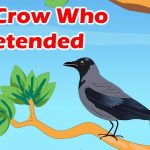 The crow who pretended story in English