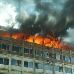 story fire in a garments factory