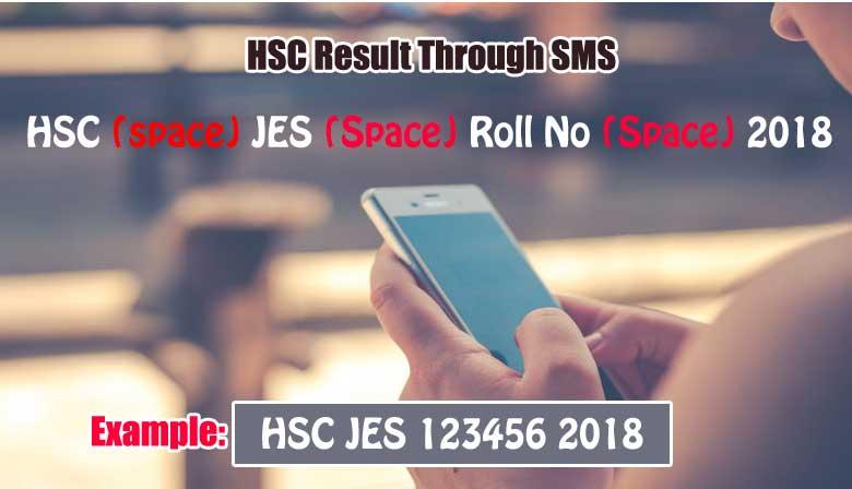 Jessore Board HSC Result SMS