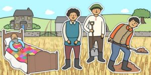 A Farmer and His Lazy Sons Story