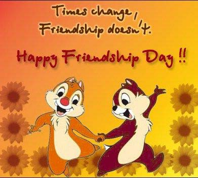 Cute friendship day wishes