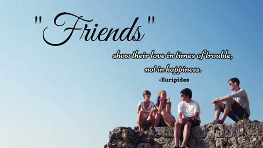 Friendship quotes photo