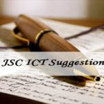 JSC ICT Suggestion