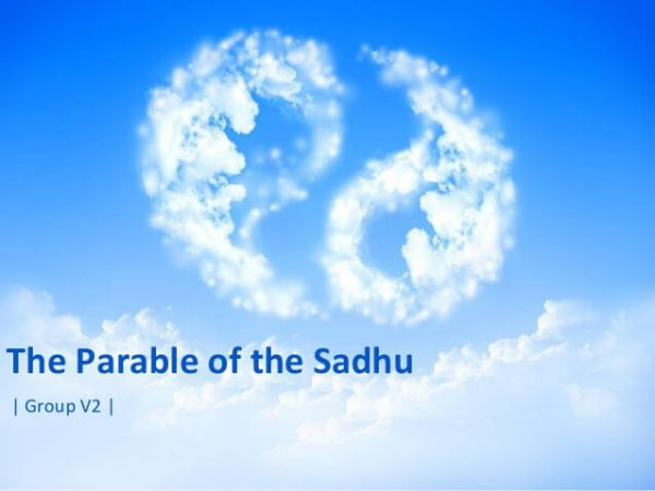 The parable of the sadhu