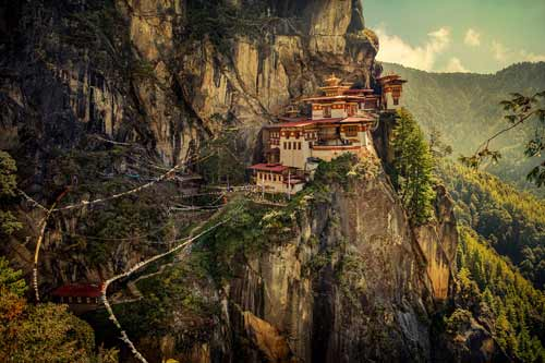 Paro Taktsang tourist spot photos