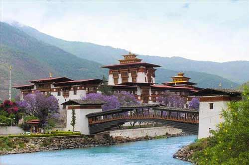 Punakha Dzong images