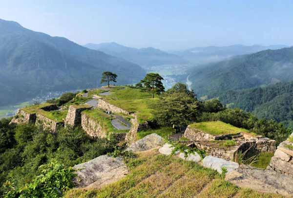 Takeda Castle Images
