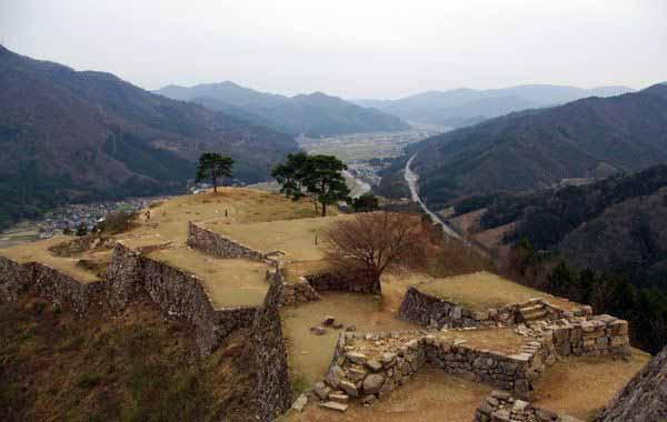 Takeda Castle Japan