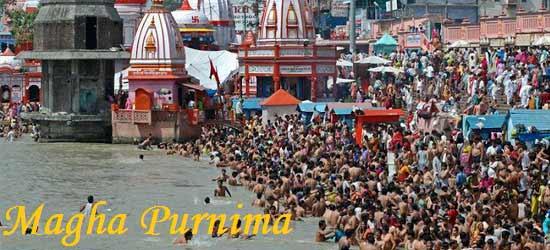 Magha Purnima Puja gathering