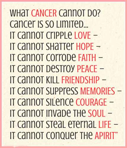 Cancer Day Quotes