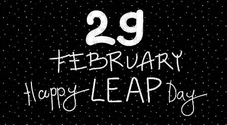 Happy Leap Year Day
