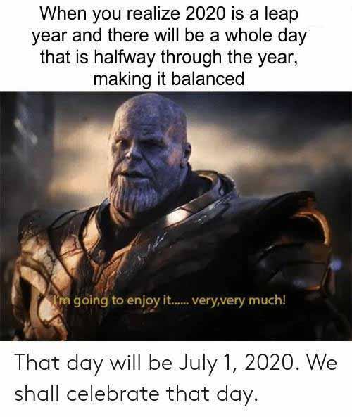 Leap Year Meme image