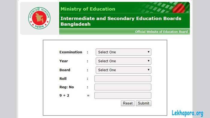 SSC Result educationboardresults