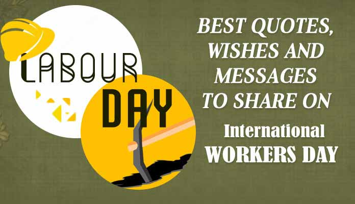 International workers day Quotes Image