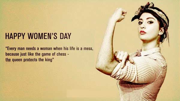Happy Womens Day Wallapaper