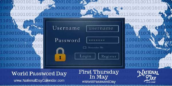 When Is World Password Day