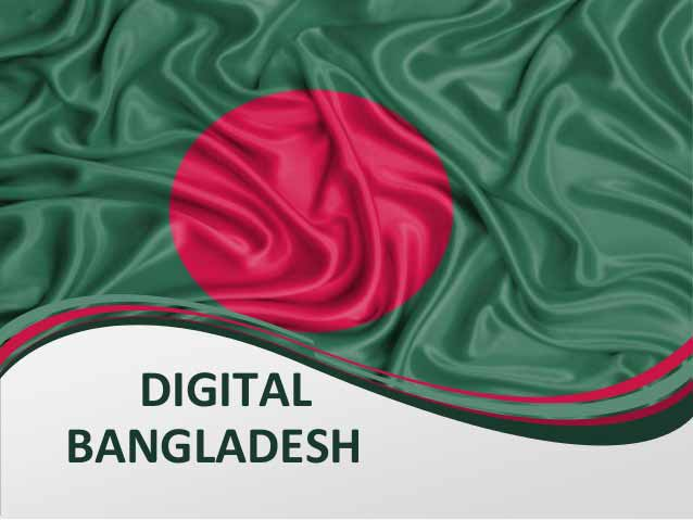 Digital Bangladesh Composition