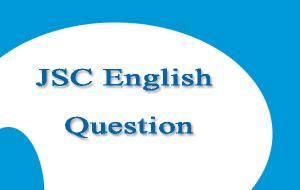 JSC English Question