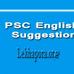 PSC English Suggestion