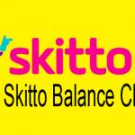 Skitto Balance Check