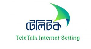 Teletalk Internet Setting